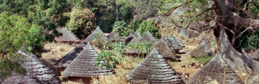 Iwol, village du Pays Bedik, Sénégal Oriental