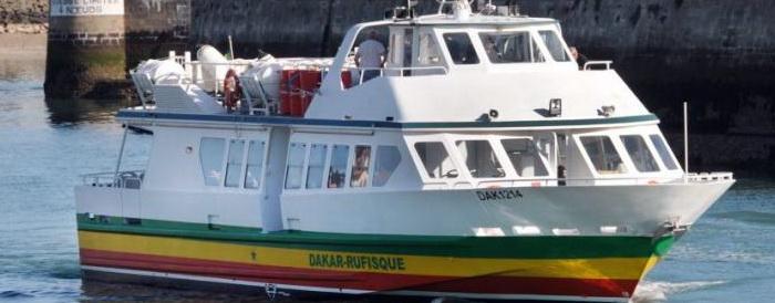Dakar - Rufisque par la mer
