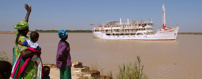 La Croisière du Bou El Mogdad sur le fleuve Sénégal
