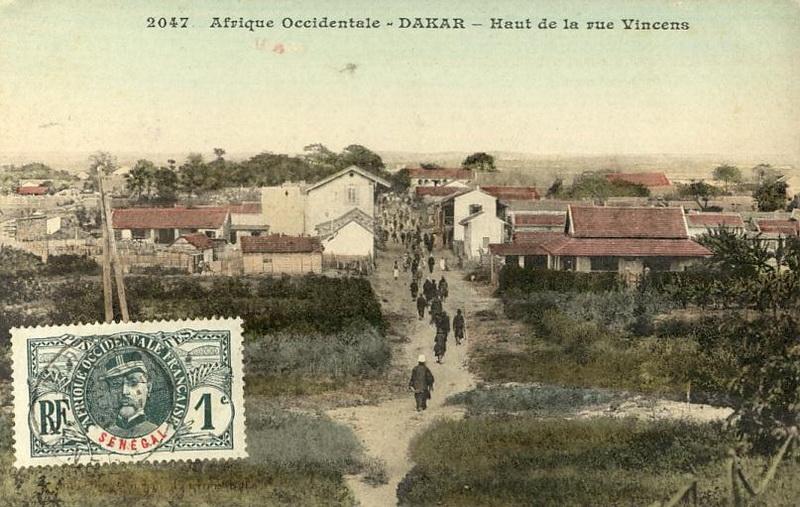La rue Vincens