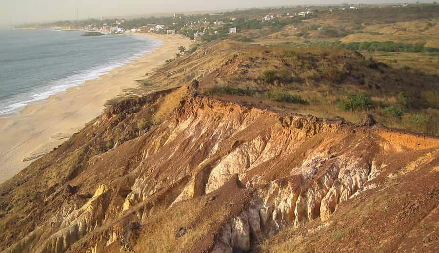 La falaise de Popenguine