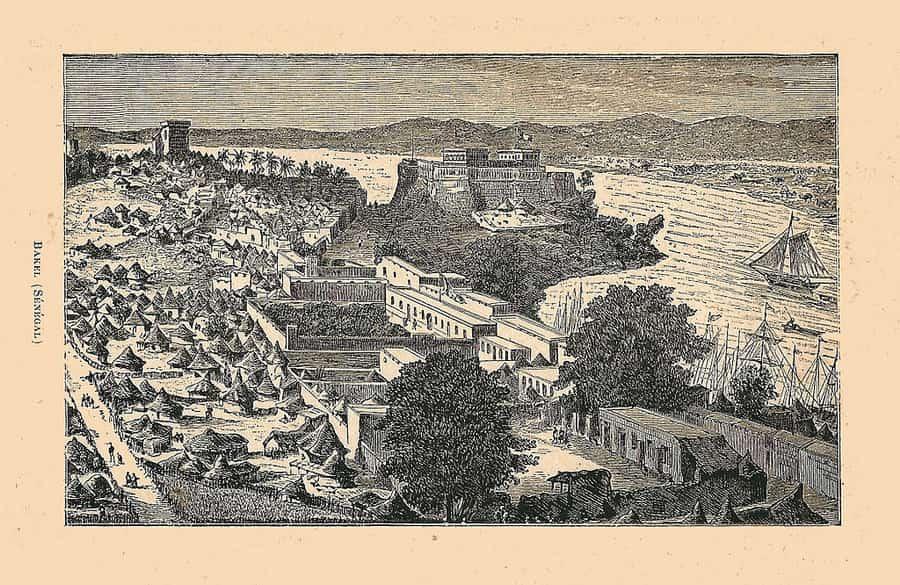 Bakel à la fin du XIXe siècle.