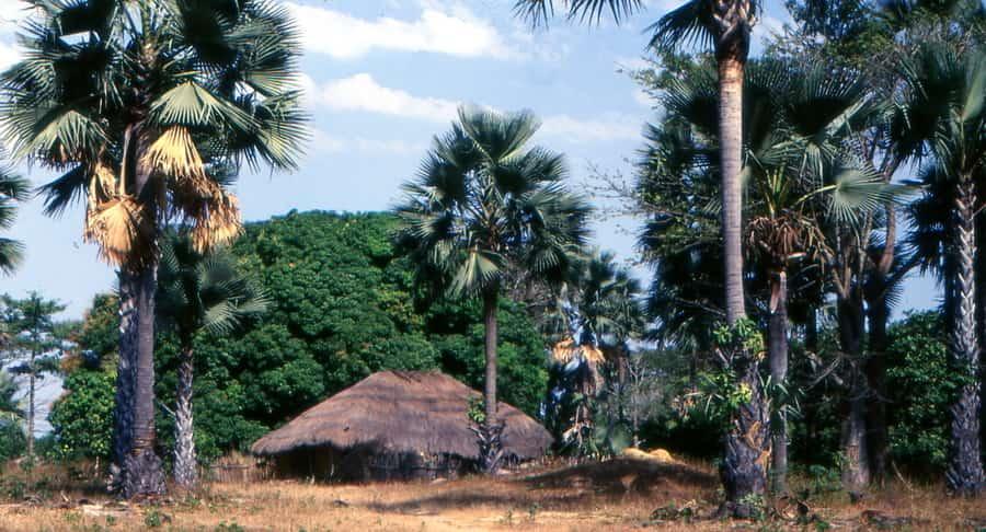 Case à impluvium à Enampore en Casamance