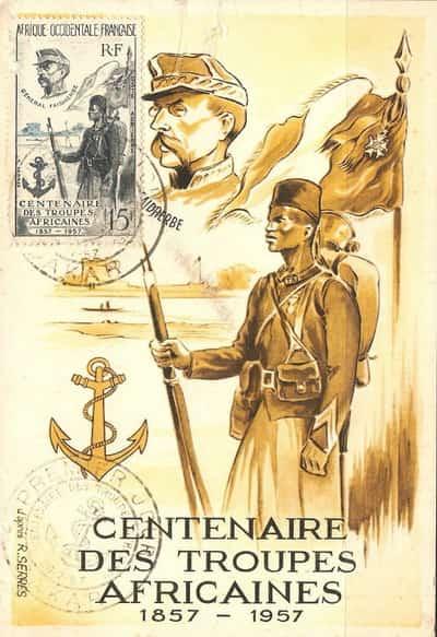 Centenaire de troupes de la Force Noire