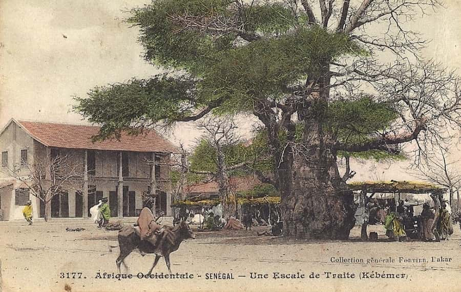 Afrique occidentale - Sénégal. Une escale de traite (Kébémer)