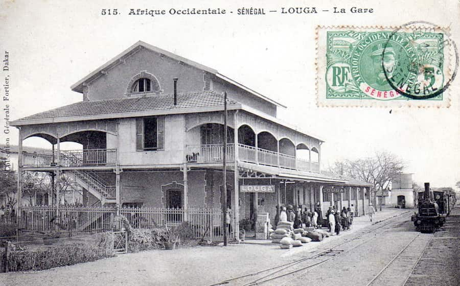 Gare ferroviaire de Louga