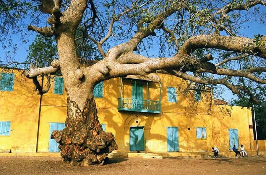 Maison coloniale à Podor