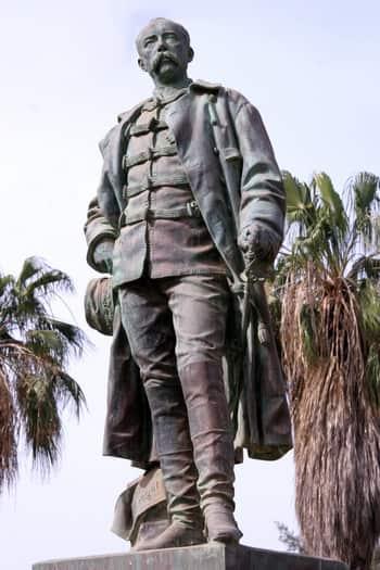 Statue de Louis Faidherbe à Saint-Louis du Sénégal