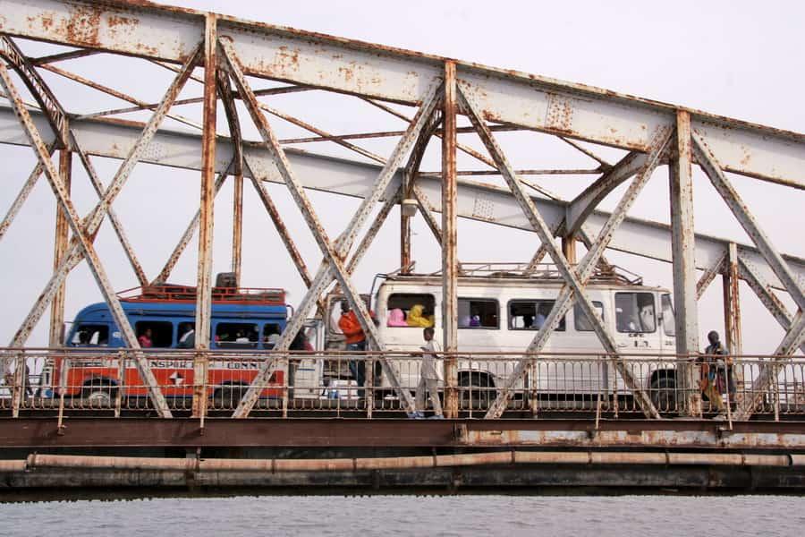 Pont Faidherbe à Saint-Louis du Sénégal
