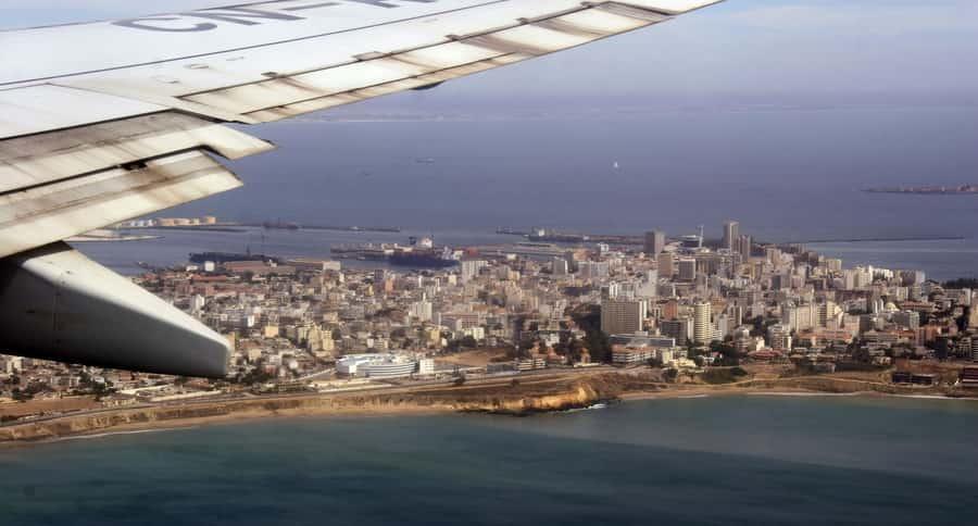 Approche de Dakar