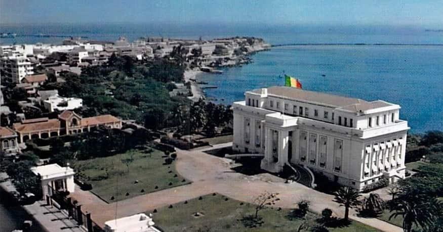 Palais présidentiel à Dakar
