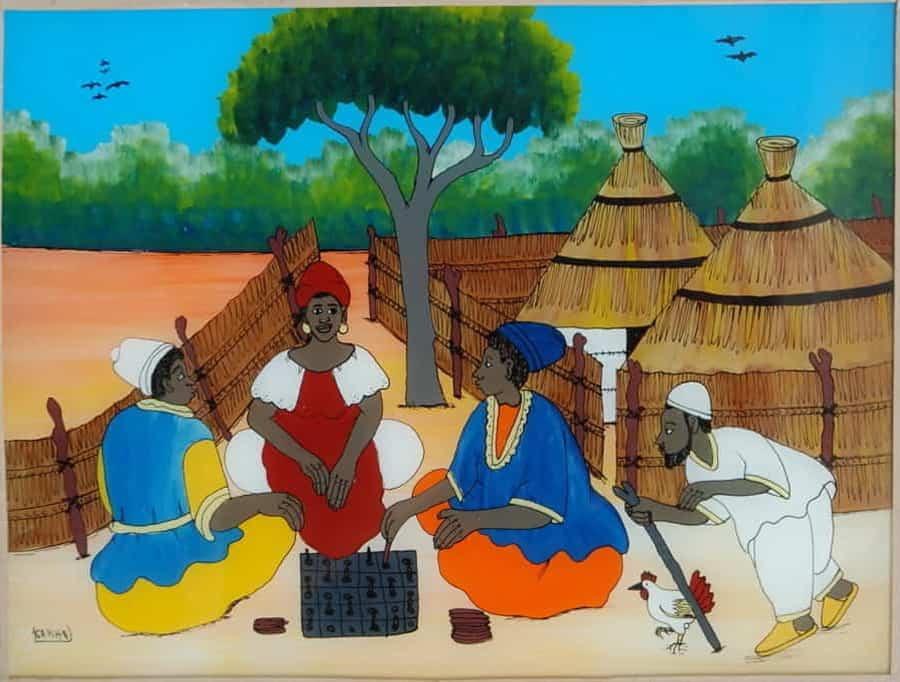 La peinture au Sénégal