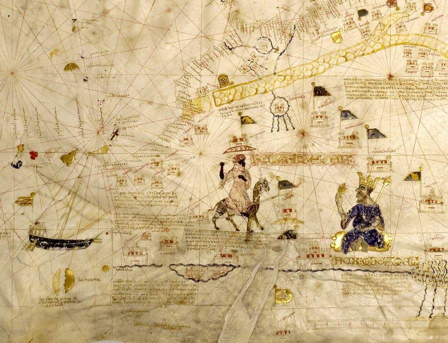 Mecia de Viladestes 1413 - détail